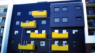 Außenansicht der Hausgemeinschaft Saarlandstraße 20