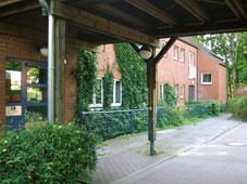 Außenansicht der Wohngruppen Carla-Teigeler-Haus