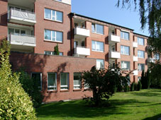 Außenansicht der Wohngruppe Norderschulweg