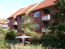 Außenansicht der Wohngemeinschaft Schwarzenbekstraße