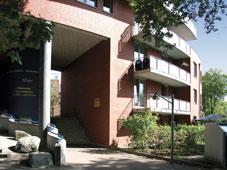 Außenansicht der Wohngruppen Swattenweg