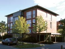 Außenansicht der Wohngruppe Von-Scheliha-Straße