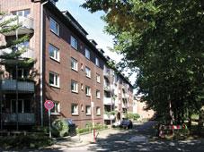 Außenansicht der Wohngruppe Wismarer Straße