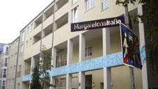 Außenansicht der Wohngemeinschaften Margaretenstraße