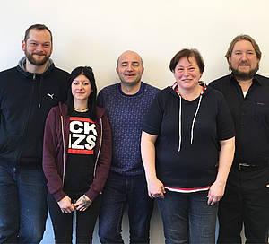 Das neue Team des Vertretungsmanagements